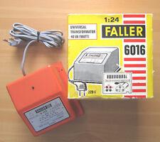 FALLER 6016 Universal Trafo Rennbahn Modellbahn Transformator AC/DC 3 Stufen OVP