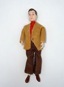 Vintage MARX Dollhouse Family Poseable Dad Doll