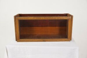 Antique Golden Oak Barrister, Lawyer, Bookcase Section, America 1920, B2548