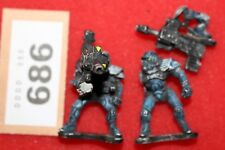Painted Metal Figures with Heavy Weapons Ikore Void Swat Team Wargames Sci Fi