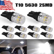car truck interior lights for sale ebay  10x super white t10 192 921 led backup reserve side marker parking light bulbs