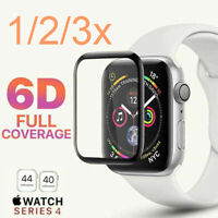 6D Tempered Glass Screen Protector For Apple Watch iWatch 4/3/2/1 38/40/42/44mm