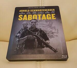 Sabotage Blu-ray Steelbook German Import