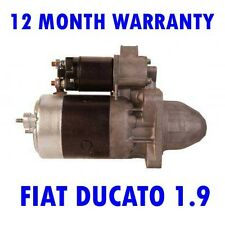 FIAT DUCATO 1.9 1987 1988 1989 1990 - 2002 REMANUFACTURED STARTER MOTOR