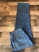 J. CREW Mens Jeans Relaxed Fit Medium Wash Distressed Size 34 x 33