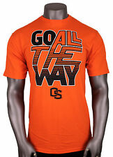 Adidas Oregon State Universidad GO ALL THE WAY CAMISETA TALLA G L Naranja osu