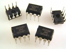 JRC 4558D Low Power Dual Op Amp Integrated Circuit OM039b  5 pieces