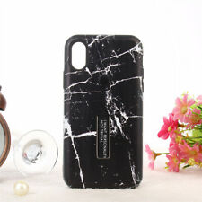 New Marble Phone Case Finger Ring Holder Kickstand For iPhone XR/XS/8/7/6S plus