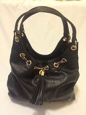 NINE WEST OFF THE CHAIN HOBO BLACK MSRP $89+Tax