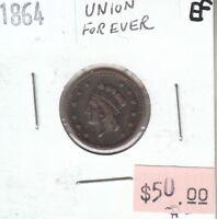 USA Civil War Token 1864 - Union Forever