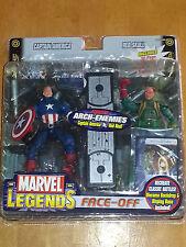 Marvel Legends NEW - Face Off - Captain America vs Baron Strucker Variant