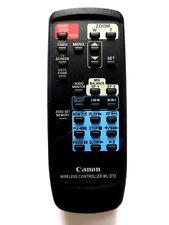 CANON CAMCORDER REMOTE CONTROL WLD-72