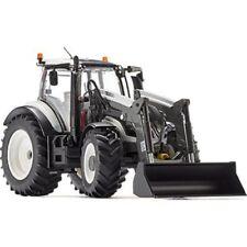 Vehículos agrícolas de automodelismo y aeromodelismo tractores de plástico de color principal blanco