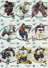 05/06 UD ICE COMPLETE BASE SET-1 THRU 100 MANY SUPER STARS & STARS. SEE PICTURES