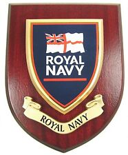 RN ROYAL NAVY CLASSIC HAND MADE IN UK REGIMENTAL MESS PLAQUE