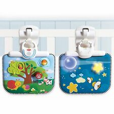 Tiny Love Double-Sided Musical Baby Crib Toy/Soother/Sit & Play For Cot/Bed