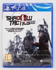 SHADOW TACTICS BLADES OF THE SHOGUN PLAYSTATION 4 PS4 PLAY STATION PAL ESP NUEVO