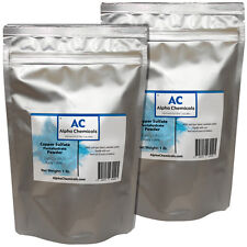2 Pounds - Copper Sulfate Pentahydrate Powder - 99% Pure