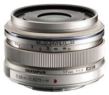 Olympus M.ZUIKO Digital 17mm f/1.8 Micro 4/3 Lens (Silver) - AUTHORIZED DEALER