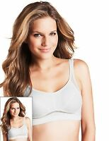 EX M&S Marks And Spencer Cotton Rich Medium Impact Non-Wired Sports Bra