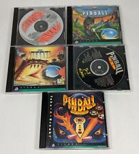 PC Games 5 CD Rom Lot PINBALL Lost Continent Full Tilt Extreme