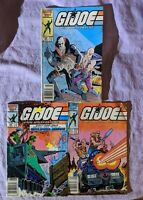 G.I. Joe A Real American Hero Lot Issues Comics #49, 50, 51, Marvel 1986 Readers