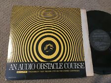 An Audio Obstacle Course- Test Record with insert Record lp original vinyl album
