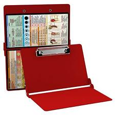 Whitecoat Clipboard- Red Nursing Edition Office Supplies Full Size Folding Nurs