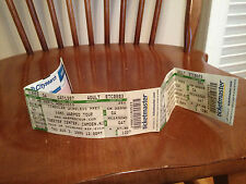 VANS WARPED TOUR Tweeter Center Camden New Jersey Unused concert tickets 2006