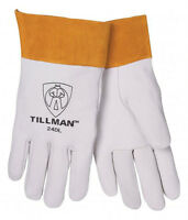 "Tillman 24D X Large TIG Welding Gloves Top Grain Kidskin Leather w/ 2"" Cuff"