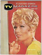 1968 ABBY DALTON St Louis Post TV Guide Magazine JONATHAN WINTERS