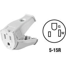 Leviton White 15A Connector
