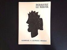 Derriere le Miroir#144-145-146, Braque Miró Chagall Picasso 1956 vintage INV2096