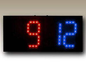 "Remote Controlled Scoreboard Red/Blue (5"" digits)"
