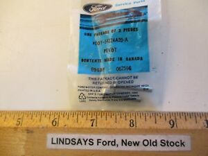 """2 PCS FORD 1988/1991 LINCOLN CONTINENTAL(DC) """"PIVOT"""" (FRONT DOOR OUTSIDE HANDLE)"""