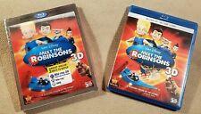 Disney's Meet the Robinsons 3D Blu-ray + Blu-ray + DVD w/Lenticular Slipcover