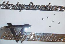 51-56 Panhead HARLEY DAVIDSON GAS TANK EMBLEM SCREWS Set of 6 OEM # 2060 Screws