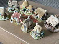 Lilliput Lane Starter Bundle - 8 Buildings - Miniature Houses- Unboxed