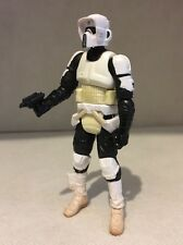 STAR WARS Biker Scout Action Figure The Saga Collection 2006