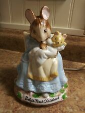 1989 Schmid Beatrix Potter Baby's First Christmas Nightlite