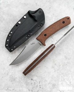 CUSTOM HANDMADE SURVIVAL TACTICAL KNIFE CITI BOWIE MICARTA LKW