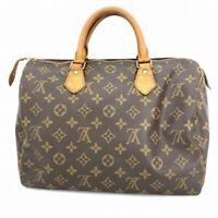 Louis Vuitton  Speedy30 Hand bag monogram M41526 F/S From Japan #DK287-211