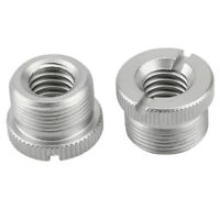 """NICEYRIG 2PCS 5/8"""" Male to 3/8"""" Female Microphone Screw Adapter for Micro Stands"""