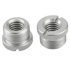 """2PCS 5/8"""" Male to 3/8"""" Female Microphone Screw Thread Adapter for Micro Stands"""