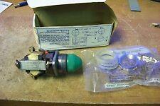NOS GE 468C452G4 Green Indicator Light
