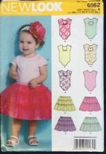 NEW LOOK by SIMPLICITY - Sewing Pattern Baby Skirt & Body Shirt #0162