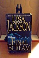 FINAL SCREAM by LISA JACKSON 2005 PB first print previously pub as INTIMACIES