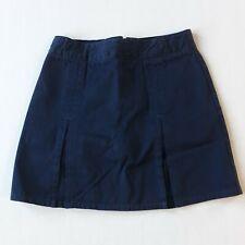 Old Navy Girls Blue Uniform Skirt with Shorts Girls Size 8
