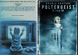 Poltergeist Complete Movie Series 1 2 3 (1-3) NEW DVD Set Collection