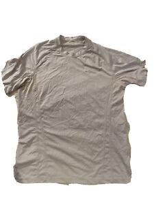 Mens Lululemon  T Shirt  White Athletic  Size Medium   Silverescent